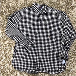 Tommy Hilfiger long sleeve button up shirt